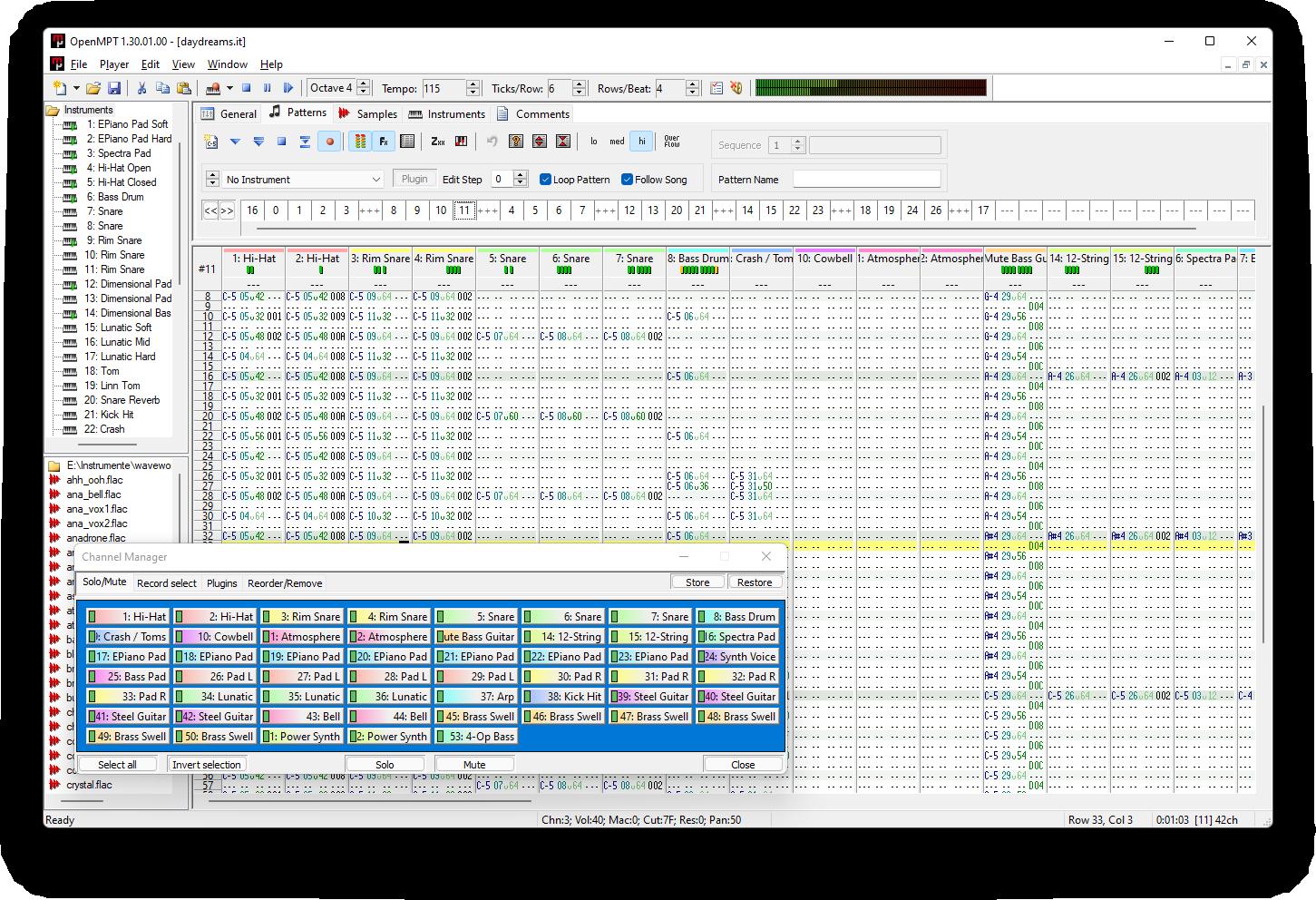 OpenMPT 1 21 01 00 released | OpenMPT - Open ModPlug Tracker